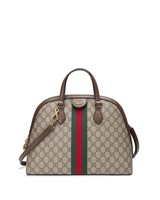 Gucci オフィディア ハンドバッグ M Brown