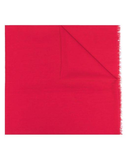 Écharpe à bords frangés Faliero Sarti en coloris Pink