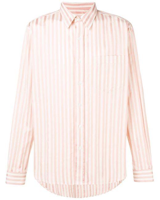 Рубашка С Нагрудным Карманом AMI для него, цвет: Pink