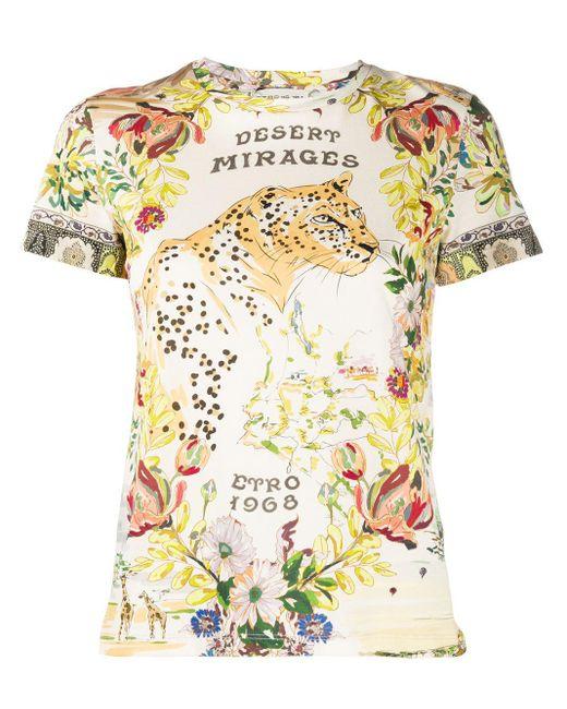 Etro フローラル Tシャツ Multicolor