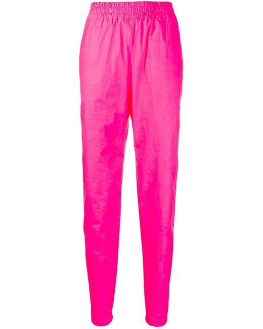 Fiorucci Tyvek トラックパンツ Pink