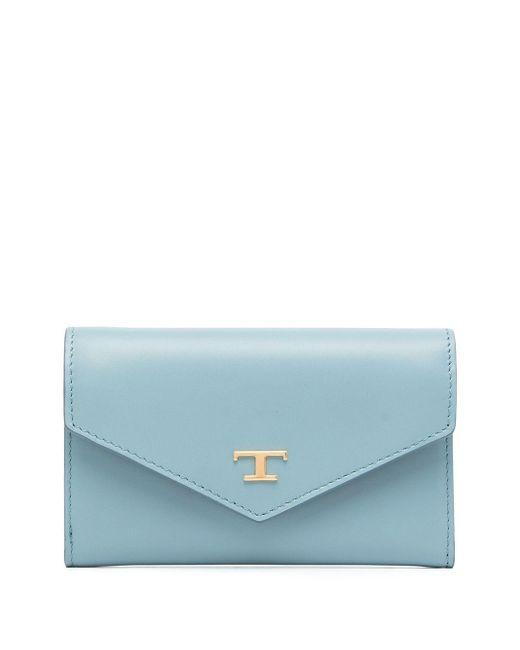 Tod's フラップ財布 Blue