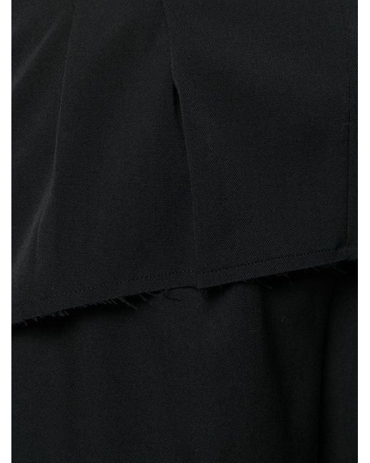 Comme des Garçons クロップド ワイドパンツ Black