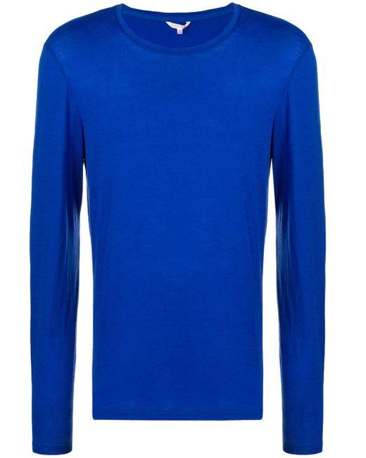 メンズ Orlebar Brown ロングスリーブ Tシャツ Blue