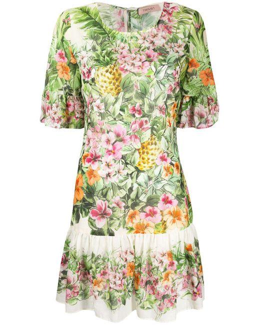Twin Set プリント ドレス Multicolor
