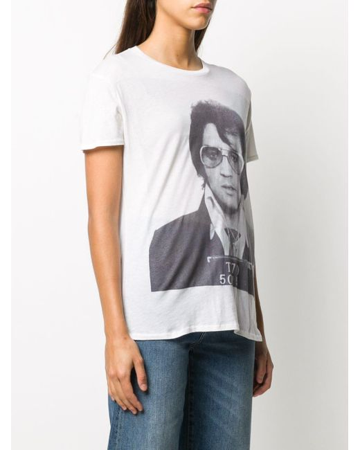 R13 Boy Elvis T-70 プリント Tシャツ Multicolor