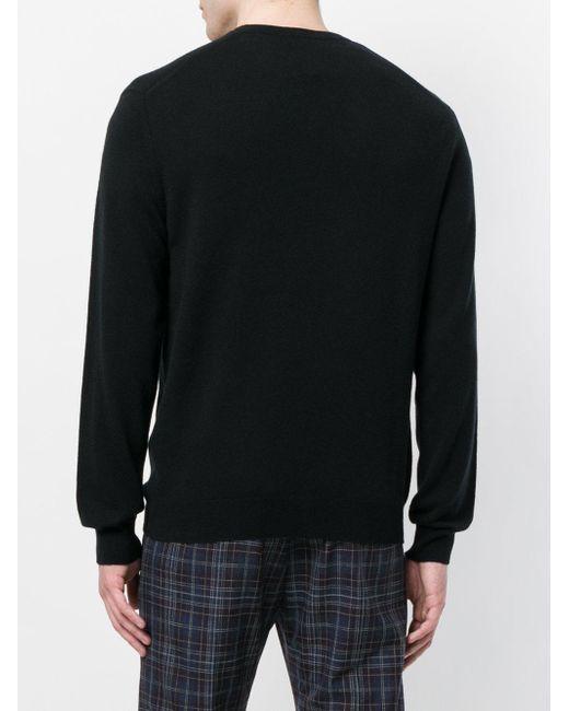 Pull The Burlington N.Peal Cashmere pour homme en coloris Black