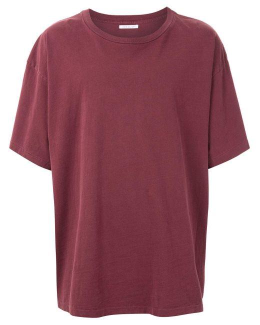 メンズ John Elliott オーバーサイズ Tシャツ Red