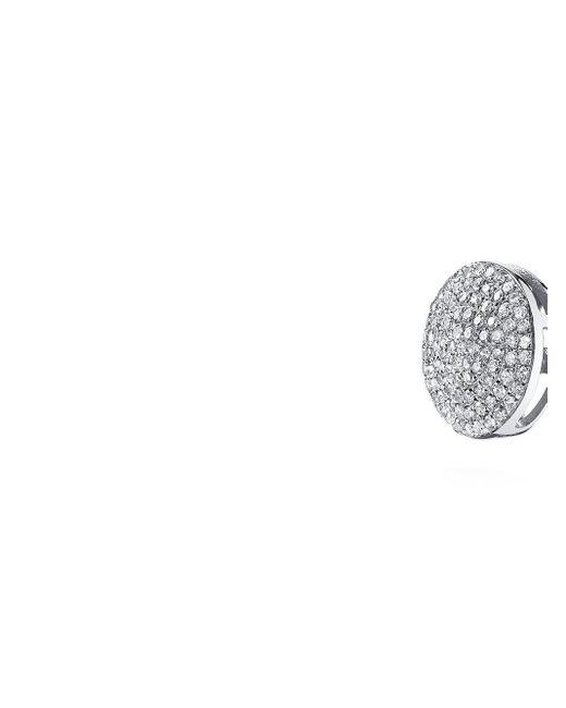 SHAY ダイヤモンド ピアス 18kホワイトゴールド Metallic