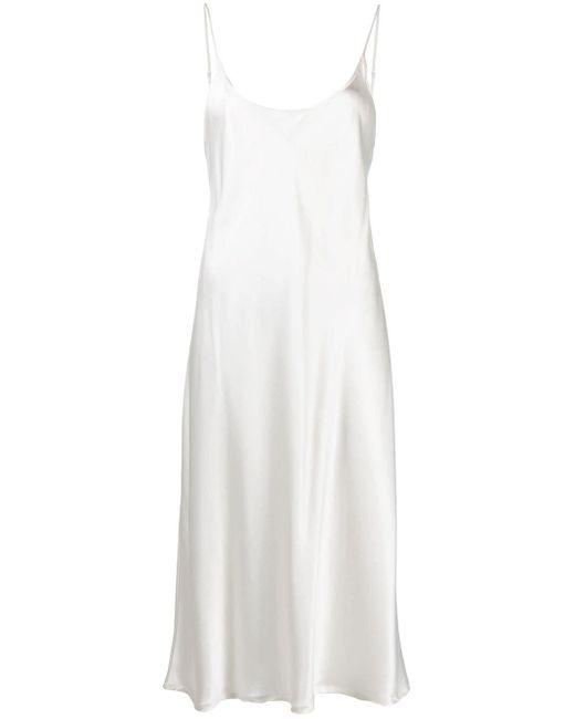 La Perla スパゲティストラップ ドレス White