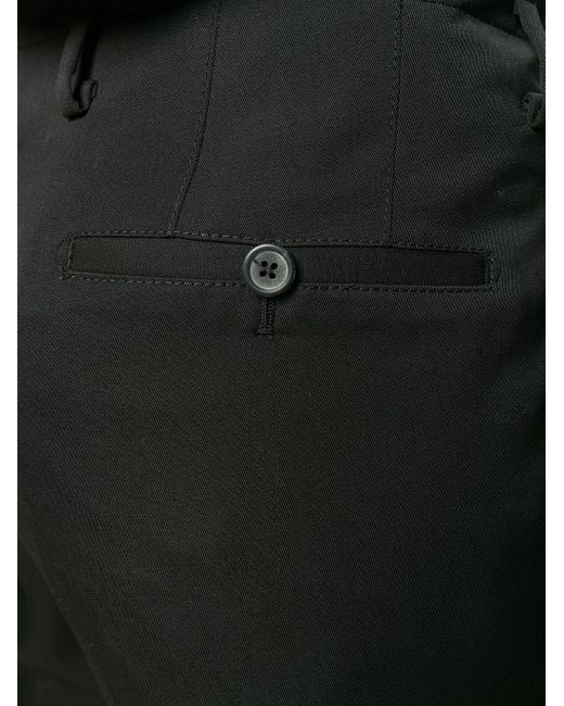 メンズ Lanvin フレアパンツ Black