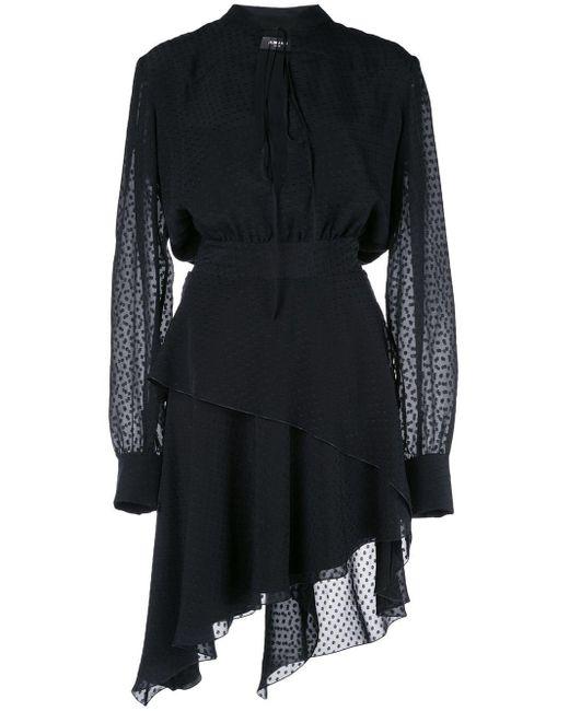 Amiri ドット ドレス Black