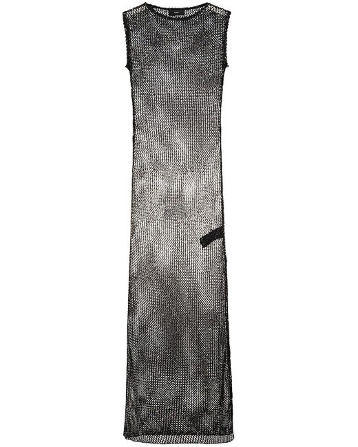 Alanui スパンコール ドレス Black