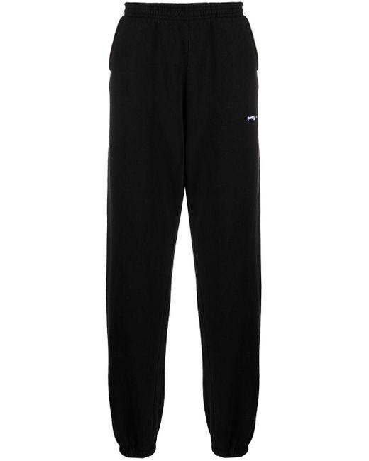 Sporty & Rich ロゴ スウェットパンツ Black