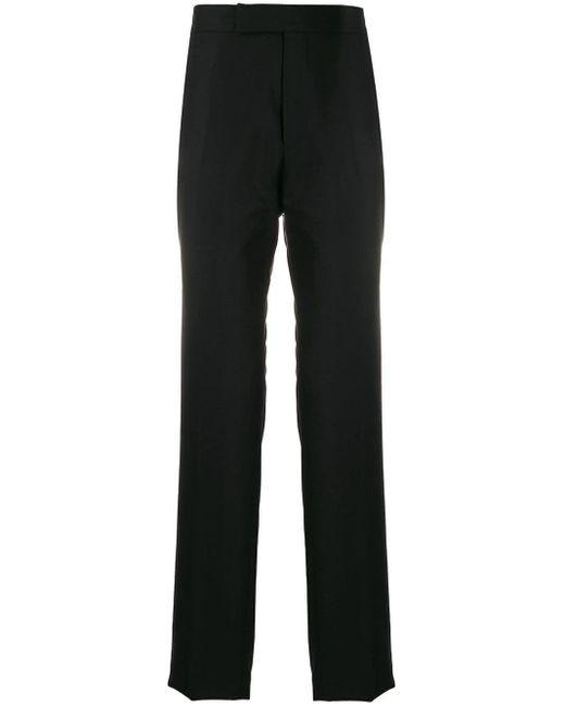 Pantalon de costume droit Tom Ford pour homme en coloris Black