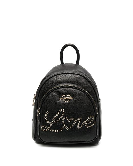 Love Moschino Love バックパック Black