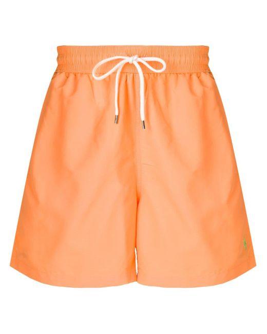 メンズ Polo Ralph Lauren トランクス水着 Orange