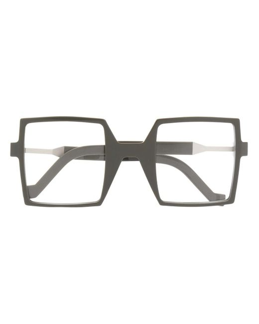 Vava スクエア眼鏡フレーム Multicolor