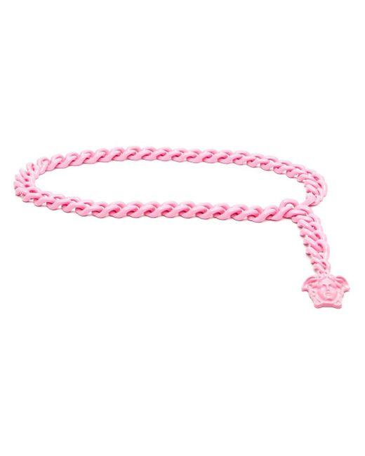 Versace メデューサ ベルト Pink