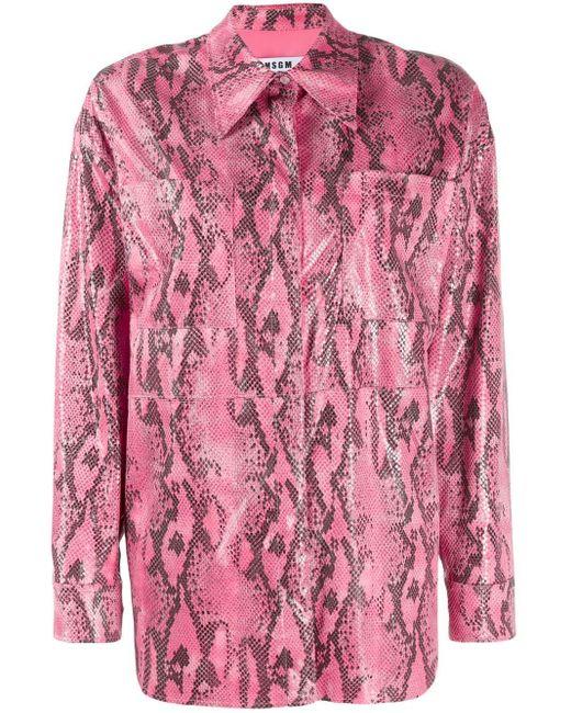 MSGM カジュアル シャツ Pink