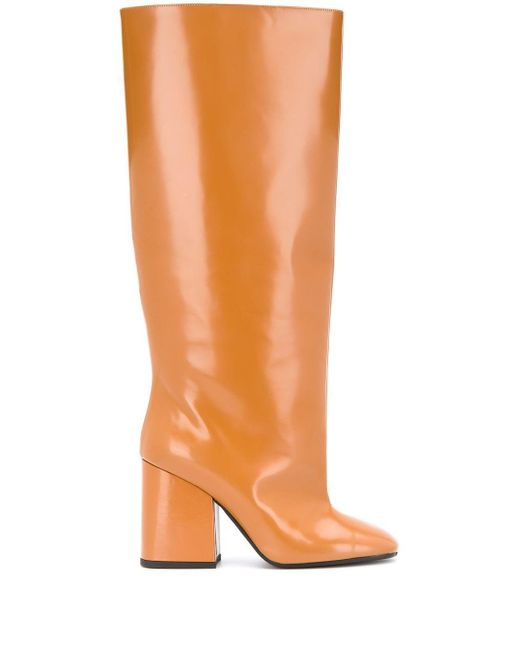 Marni Square-toe Boots Brown