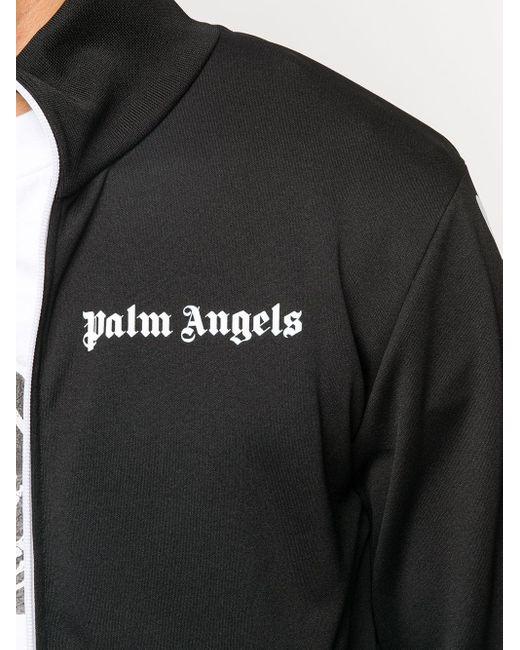 メンズ Palm Angels スケルトン トラックジャケット Black