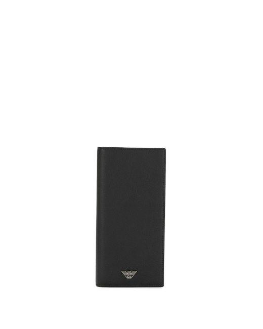 Бумажник Yen Emporio Armani для него, цвет: Black
