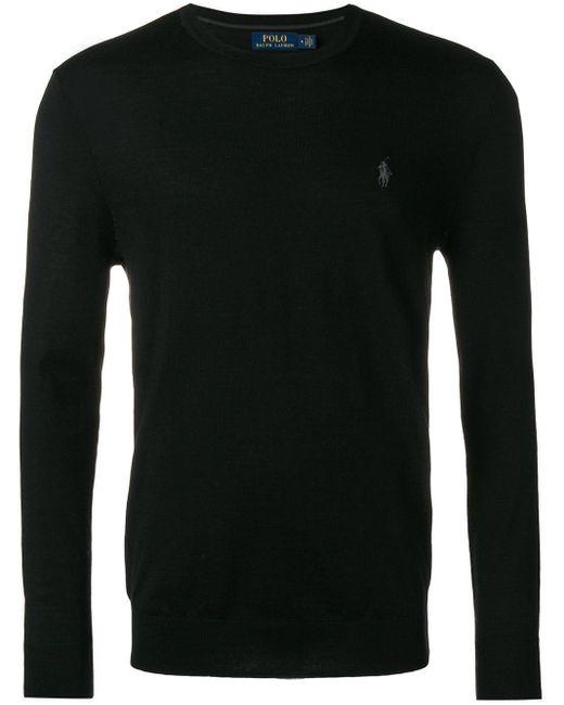 メンズ Polo Ralph Lauren クラシック セーター Black