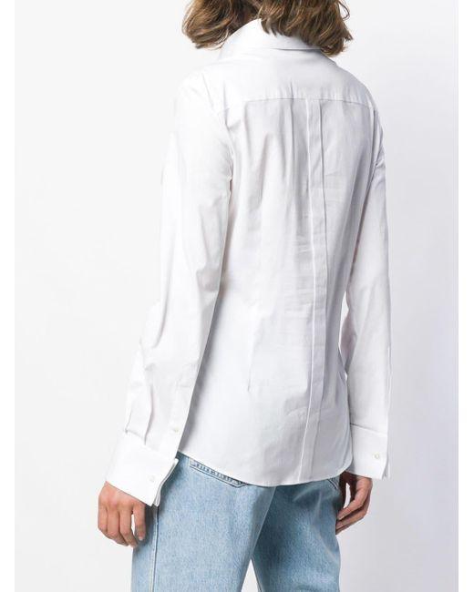 Dolce & Gabbana ストレッチ シャツ White