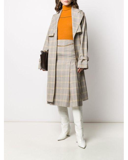Victoria Beckham チェック スカート Multicolor