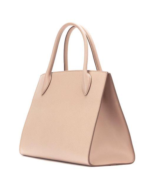 Monochrome tote bag - Nude & Neutrals Prada Pw5QXveM