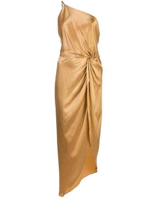 Michelle Mason アシンメトリー ドレス Multicolor