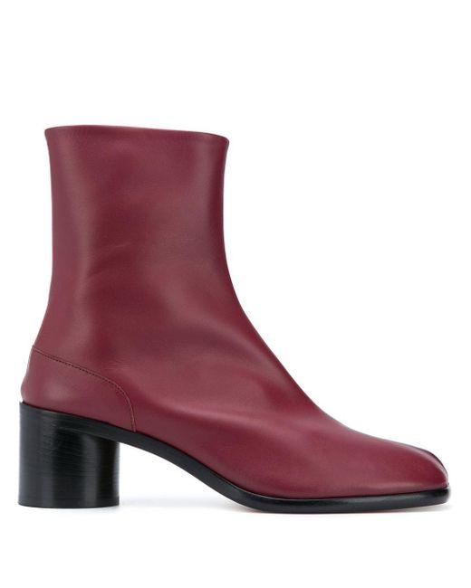 Ботинки Tabi Maison Margiela для него, цвет: Red