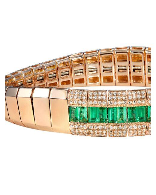 SHAY ダイヤモンド ブレスレット 18kローズゴールド Multicolor