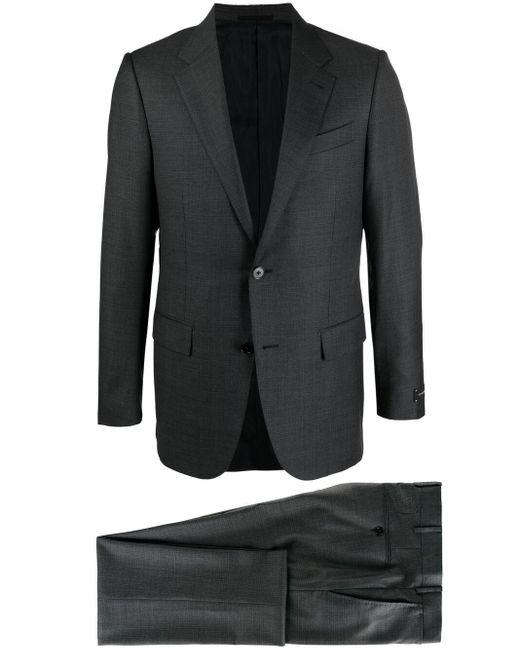 メンズ Ermenegildo Zegna シングルスーツ Gray