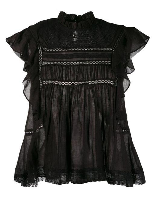 Étoile Isabel Marant Vivia ノースリーブトップ Black