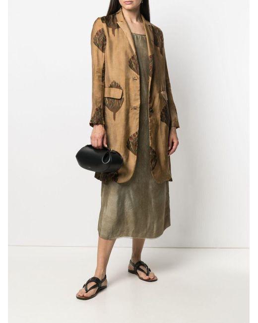 Vestido de tubo sin mangas largo Uma Wang de color Multicolor
