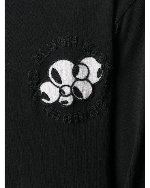 メンズ Henrik Vibskov グラフィック Tシャツ Black