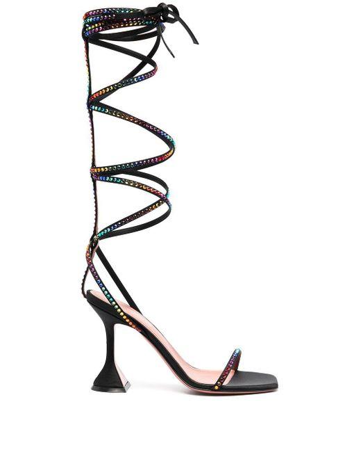 AMINA MUADDI Black X Awge Lsd Gladi Sandals