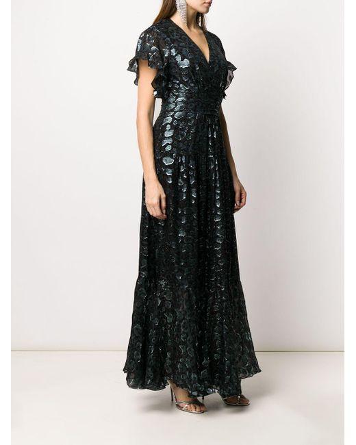 Ba&sh Gemma メタリックドレス Black