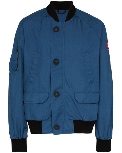 メンズ Canada Goose Dunham パデッドジャケット Blue