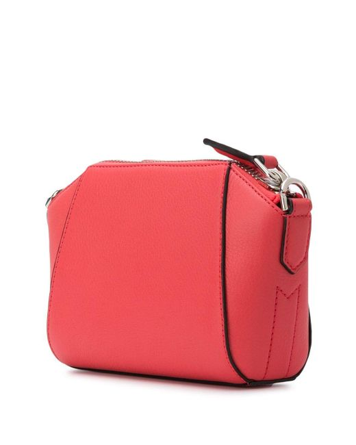 Мини-сумка Antigona Givenchy, цвет: Pink
