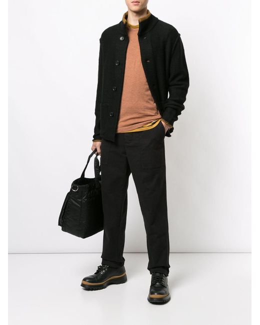 Pull classique en cachemire James Perse pour homme en coloris Brown