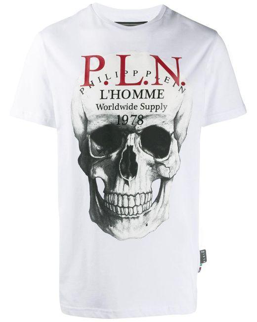 メンズ Philipp Plein Tシャツ White