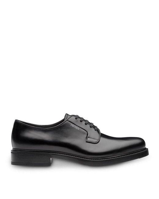 Туфли Дерби Prada для него, цвет: Black