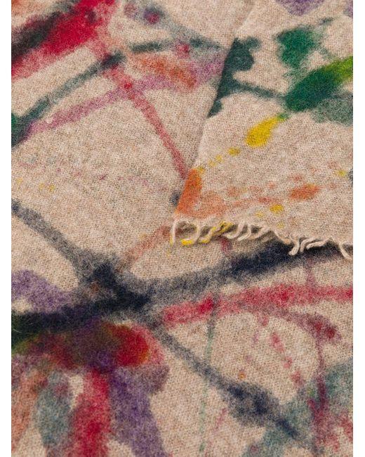 Faliero Sarti カシミア プリント スカーフ Multicolor