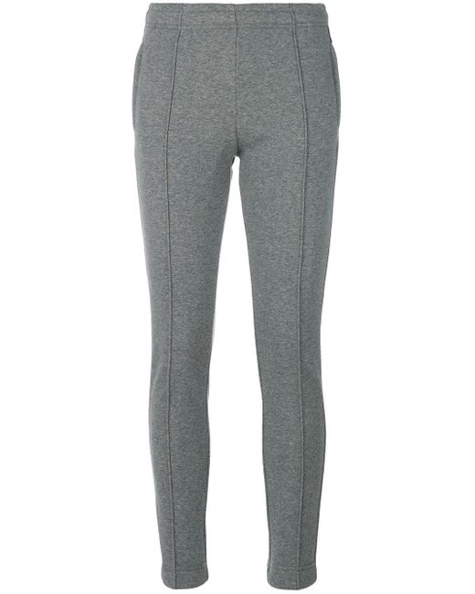 Pantaloni skinny di 3 MONCLER GRENOBLE in Gray