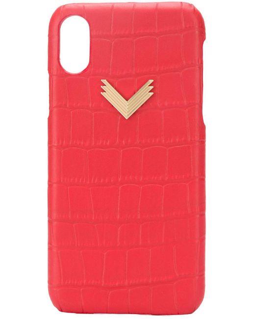 Чехол Для Iphone X/xs Manokhi, цвет: Red