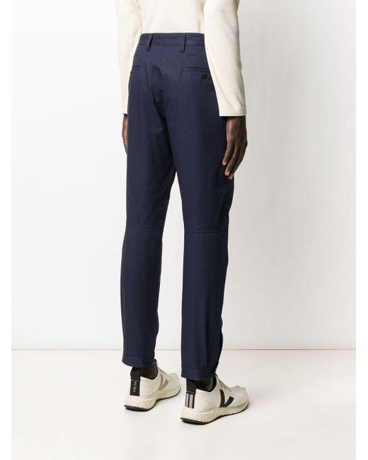 メンズ Lanvin ポケット チノパンツ Blue
