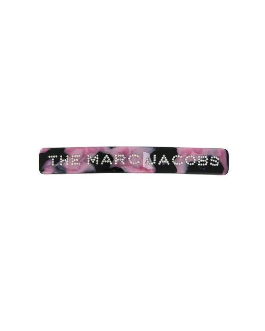Marc Jacobs ビジューロゴ ヘアピン Pink